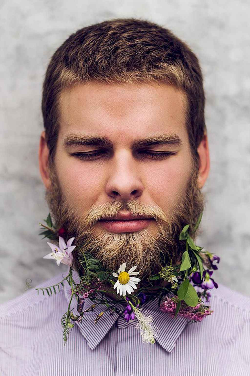 37 Most Elaborate Flower Beard Ideas